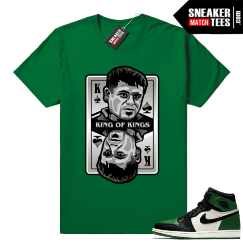 El Chapo shirt Pine Green 1s