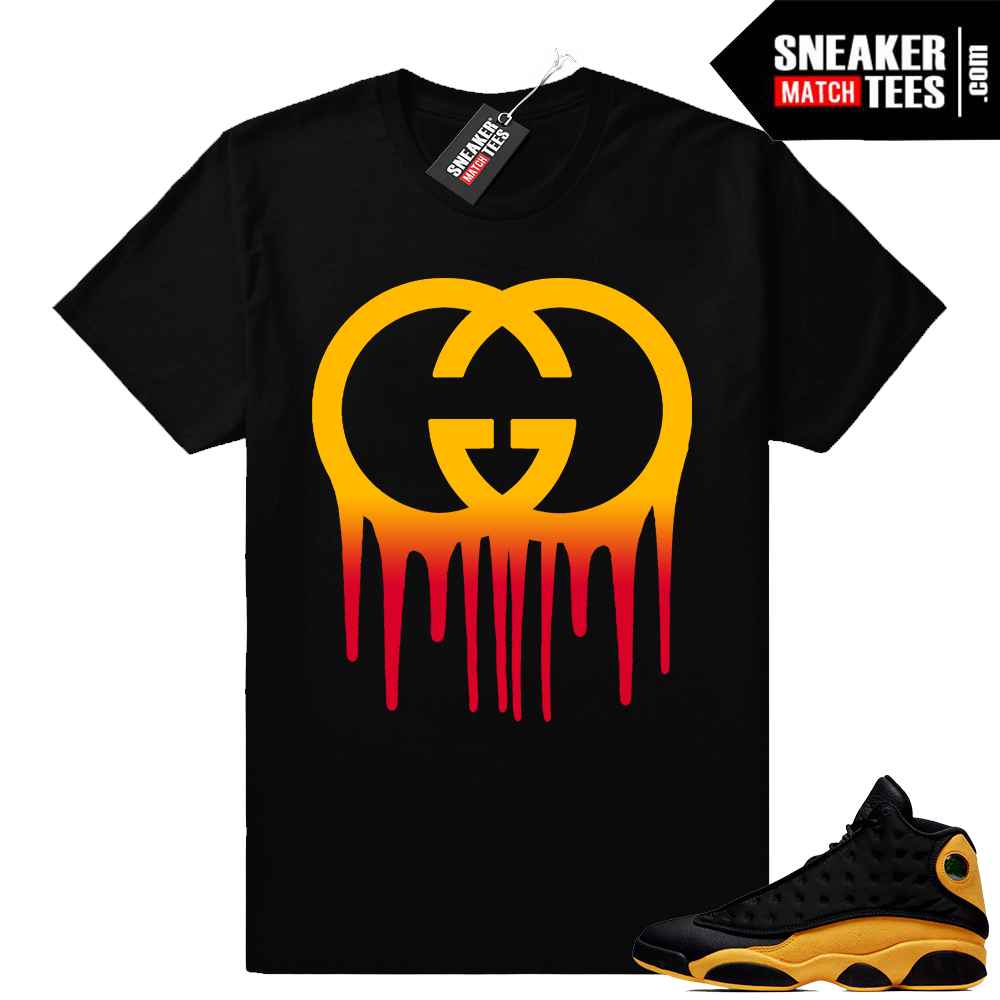 Jordan 13 Sneaker tees Match Melo 13s