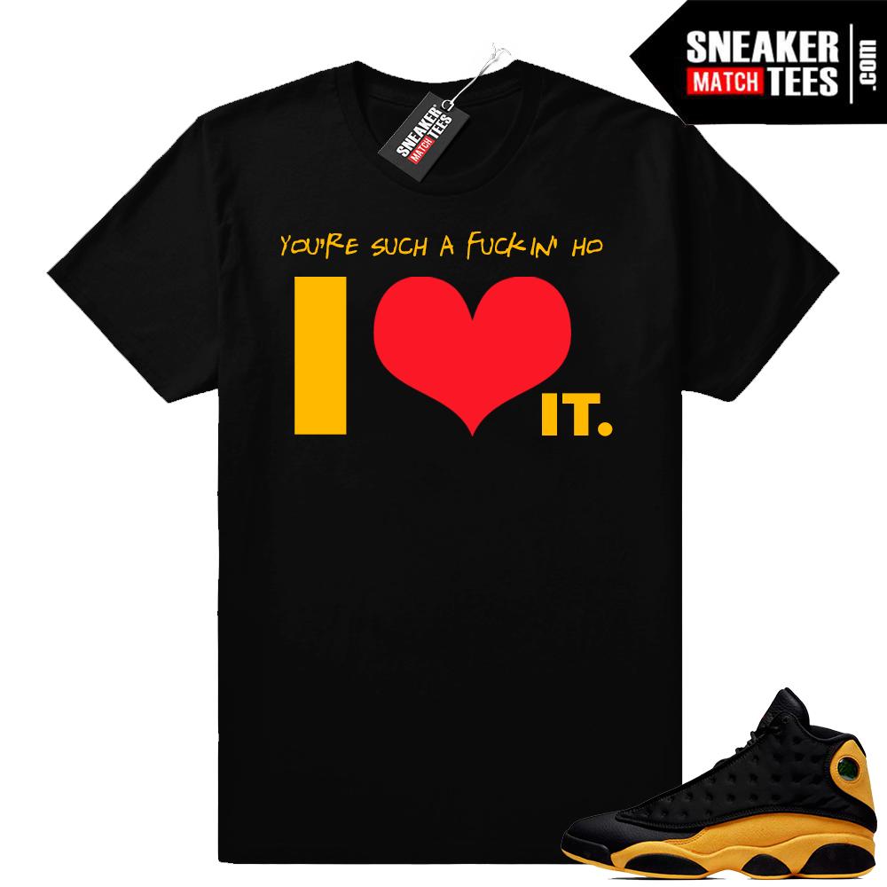 Jordan 13 clothing match Melo 13s