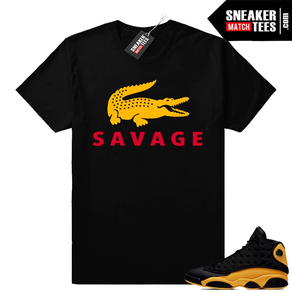 Jordan 13 sneaker shirts Melo 13s