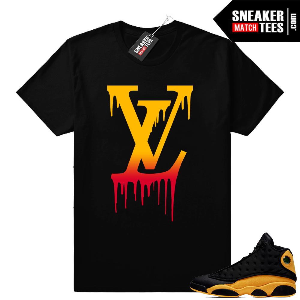 Jordan 13 sneaker tee shirts Melo 13s