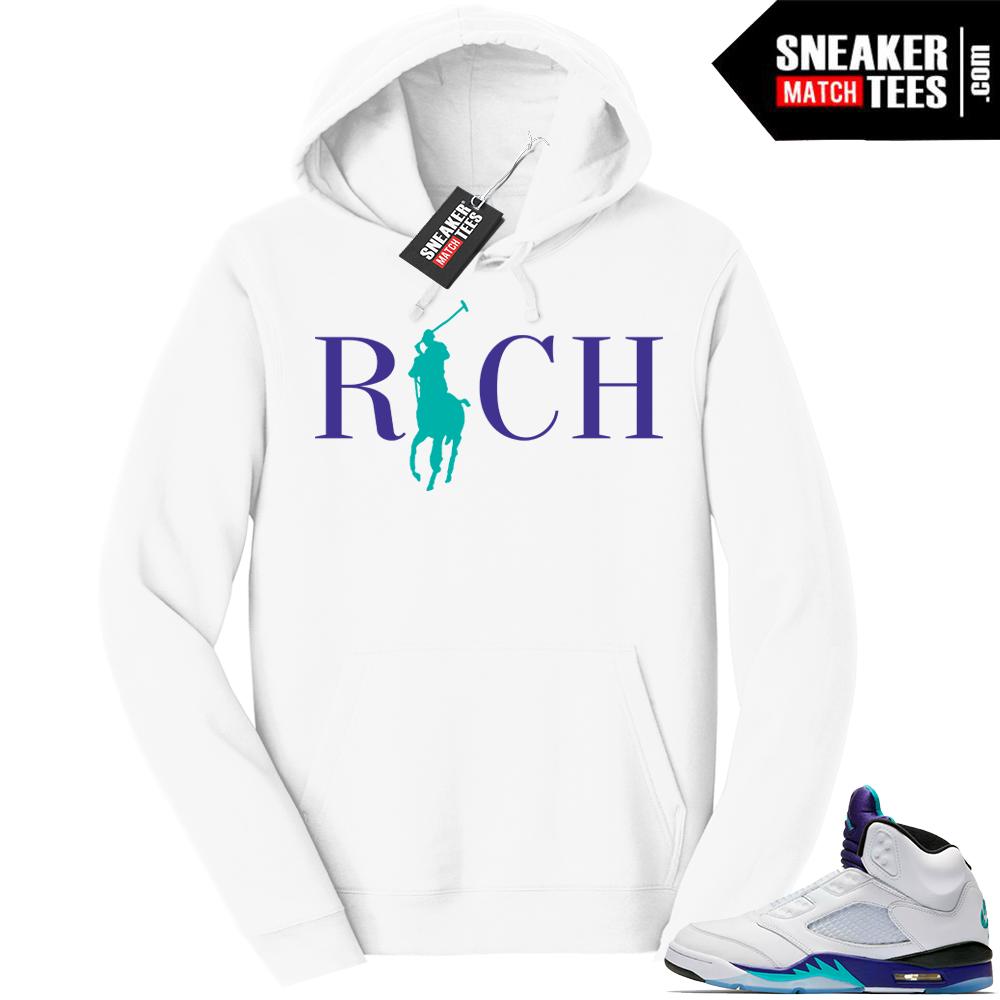 Jordan 5 Grape Rich Hoodie