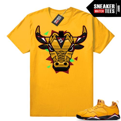 Jordan 7 low taxi shirt