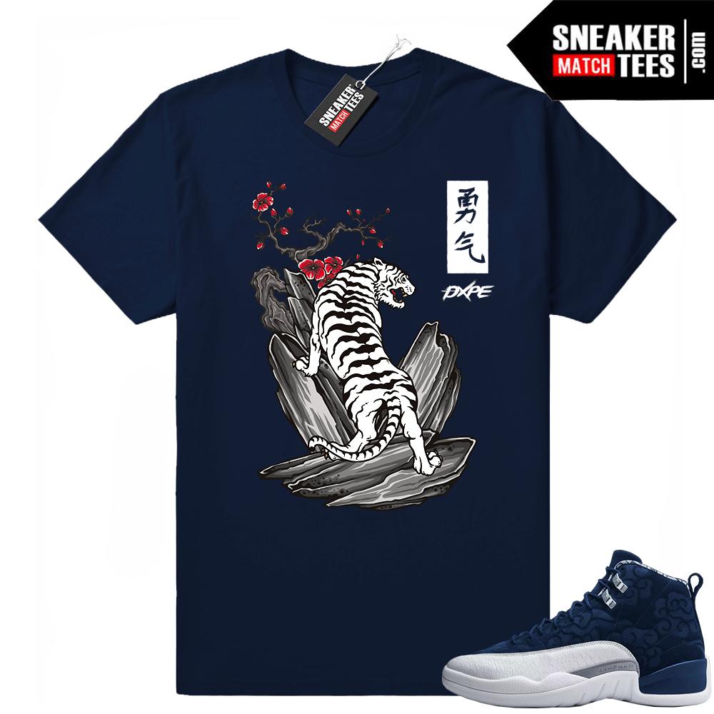 Jordan Retro 12 shirts International Flight
