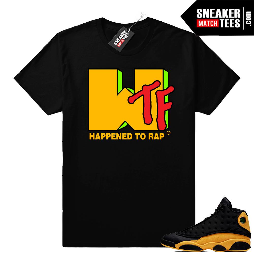 Jordan Retro 13 sneaker match shirts