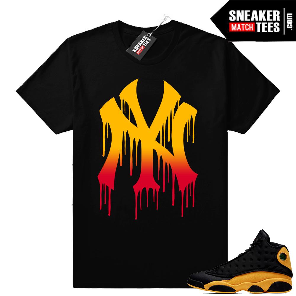 Jordan Retro 13 sneaker tees Melo 13s