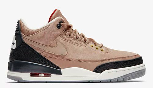 Jordan release dates Jordan 3 JTH Bio beige