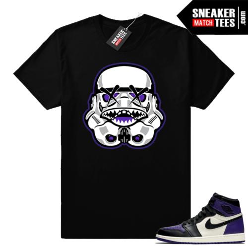 Jordan retro 1 Court Purple shirts
