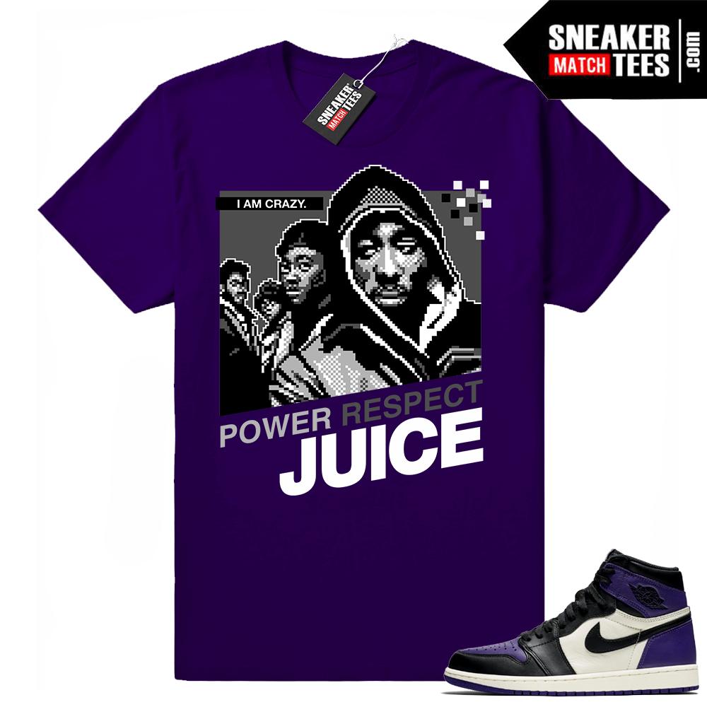 Juice shirt Court Purple 1s