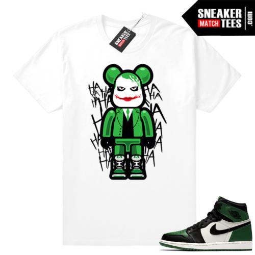 Match Air Jordan 1 Pine Green shirt