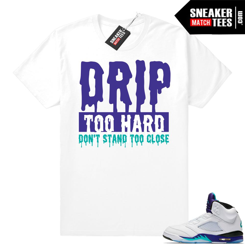 Match Grape 5s shirt