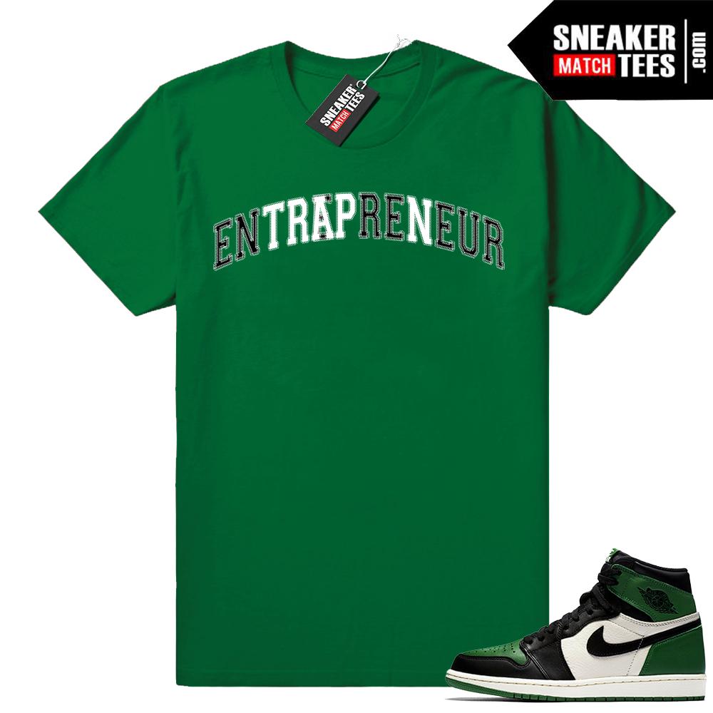 Match Jordan 1 Pine Green Shirts