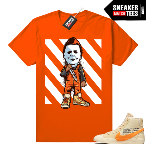 Match Nike Blazer Off white All Hallows Eve Shirt