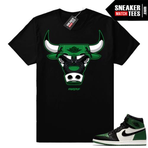 Match Pine Green 1s Jordan retro shirt
