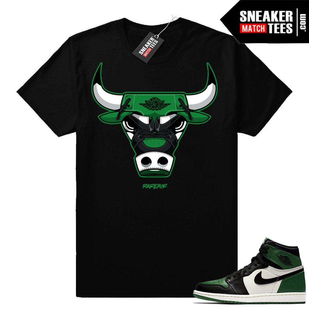 Match Pine Green 1s Jordan retro shirt