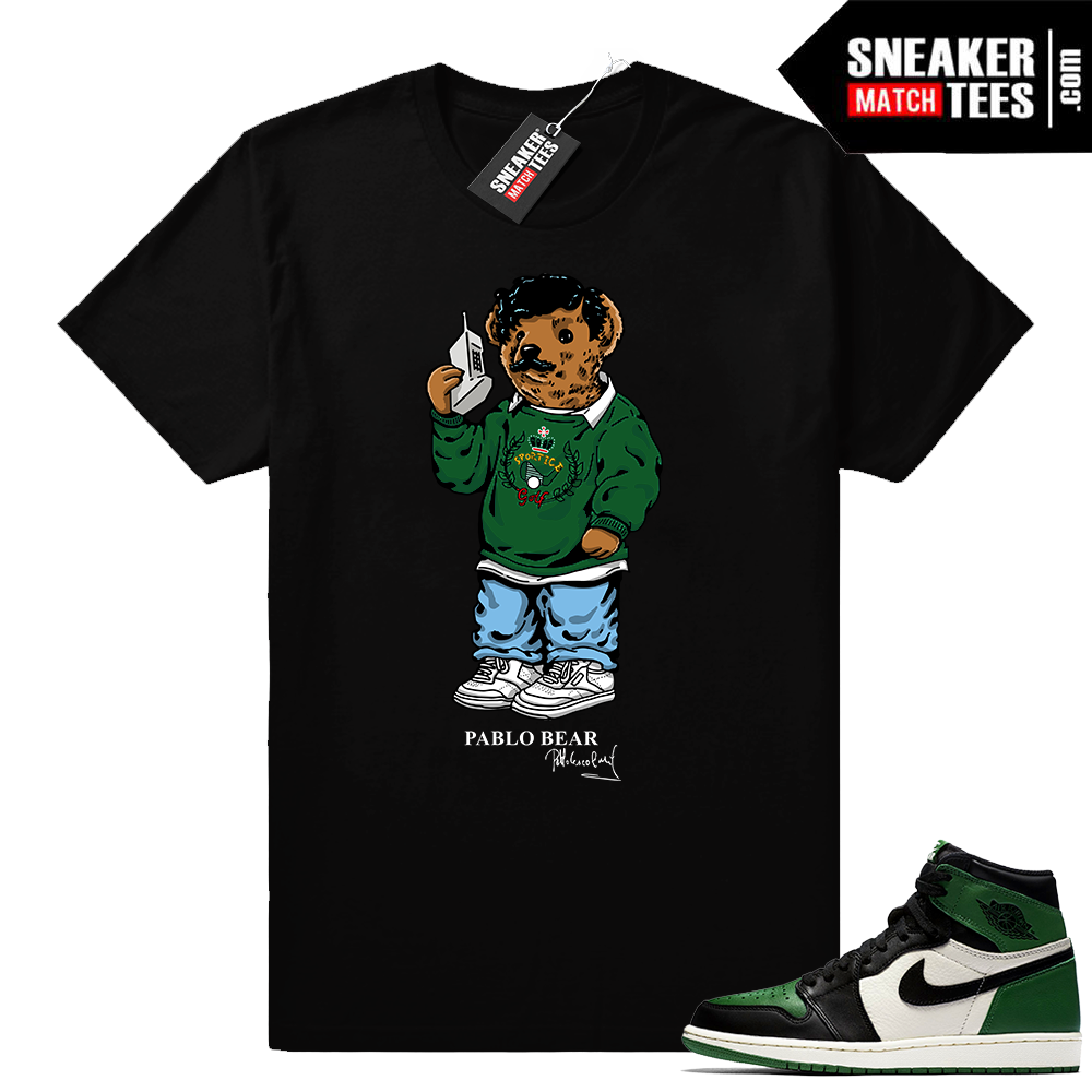 Pine Green 1s Pablo Bear