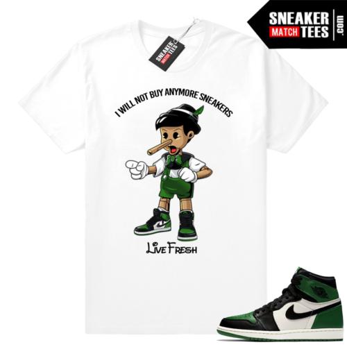 Pine Green 1s Sneakerhead Pinocchio
