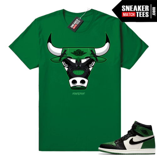 Pine Green 1s sneaker clothing