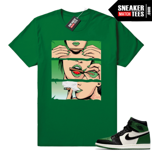 Pine Green Jordan 1s shirt