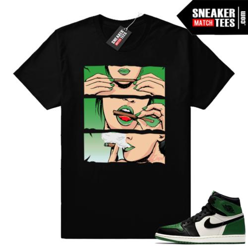 Pine Green Jordan retro 1 shirt