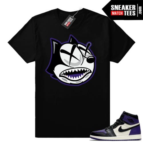 Retro 1 Court Purple Shirt