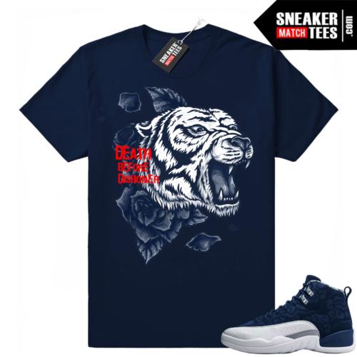Retro 12 shirt match sneakers