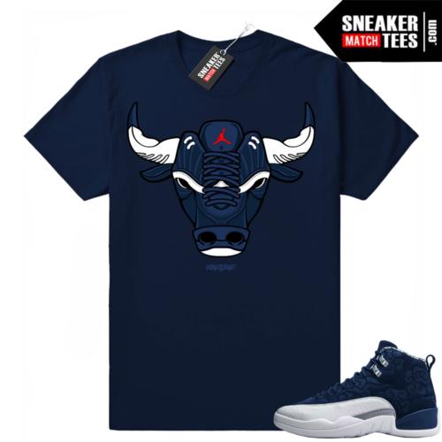 Retro 12 sneaker shirts International Flight