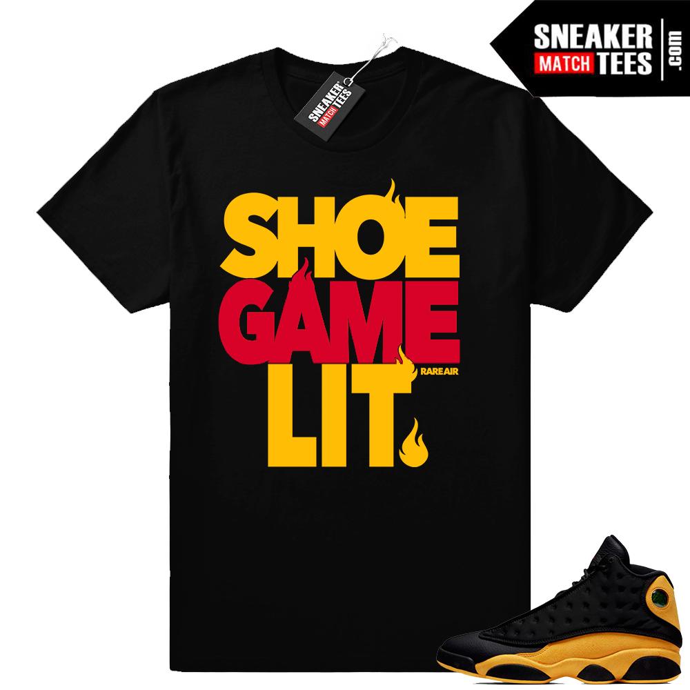 Retro 13 Jordan shirt match