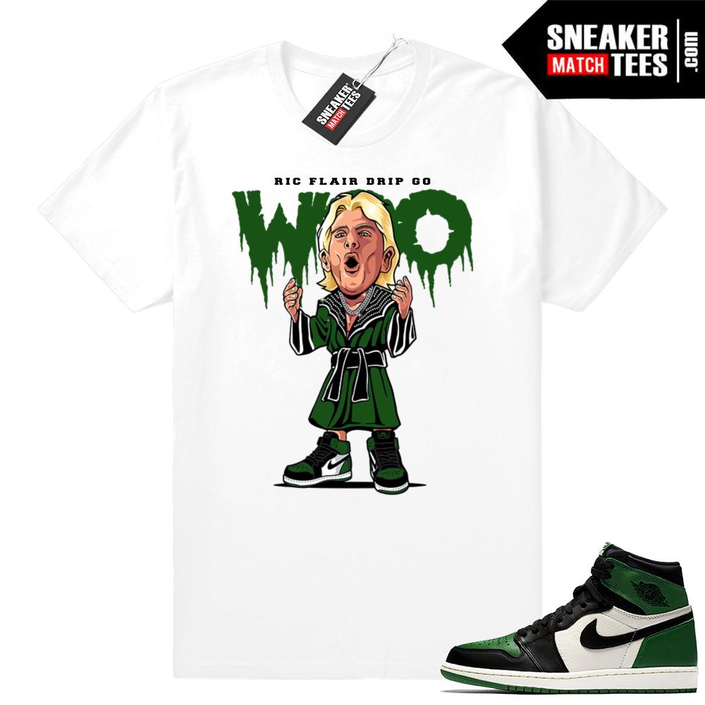 Ric Flair Drip Jordan 1 Pine Green