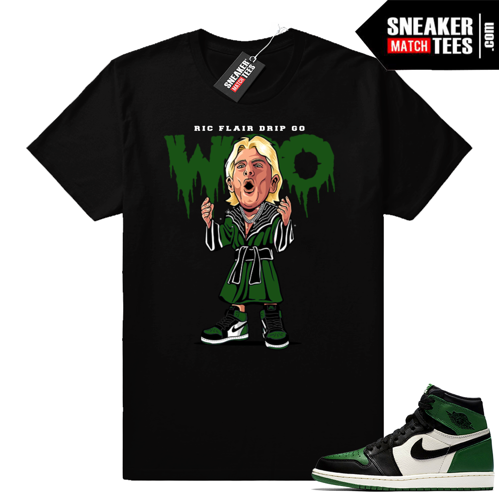 Ric Flair Drip Pine Green 1s