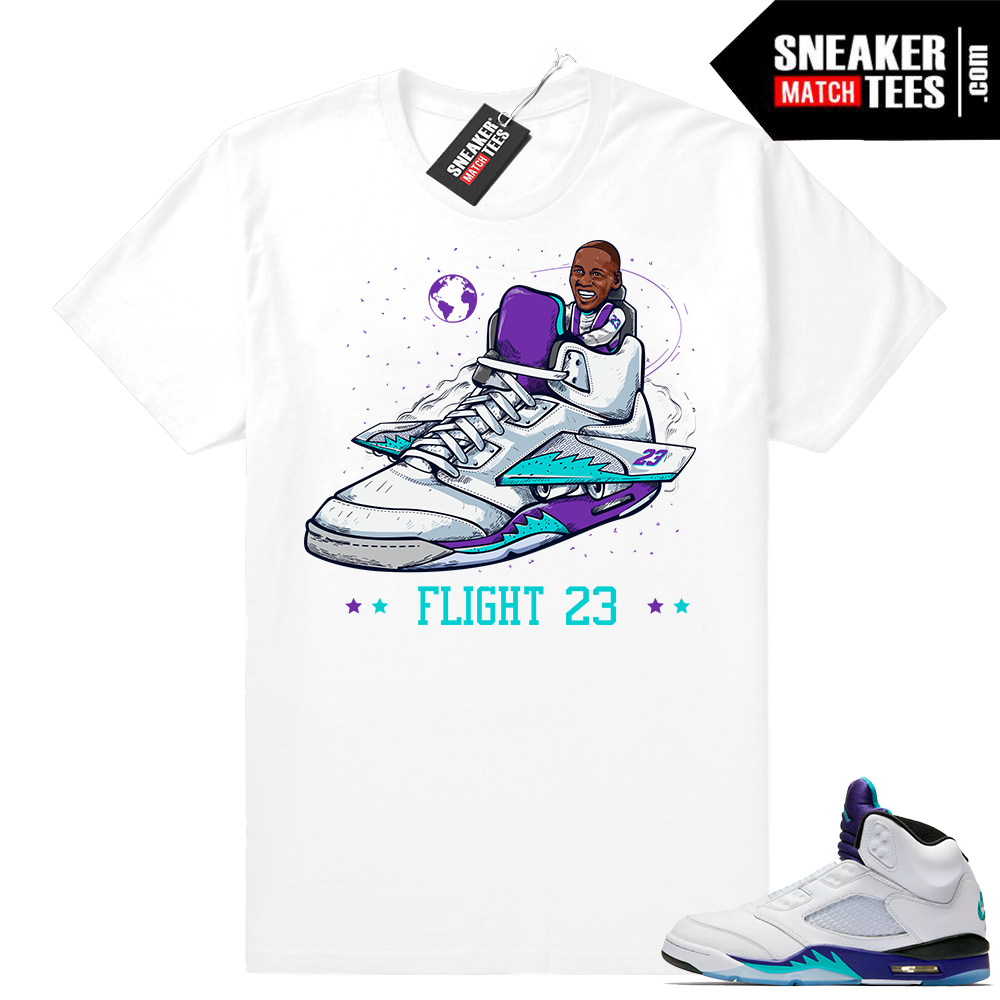 Shirts Jordan 5 Grape