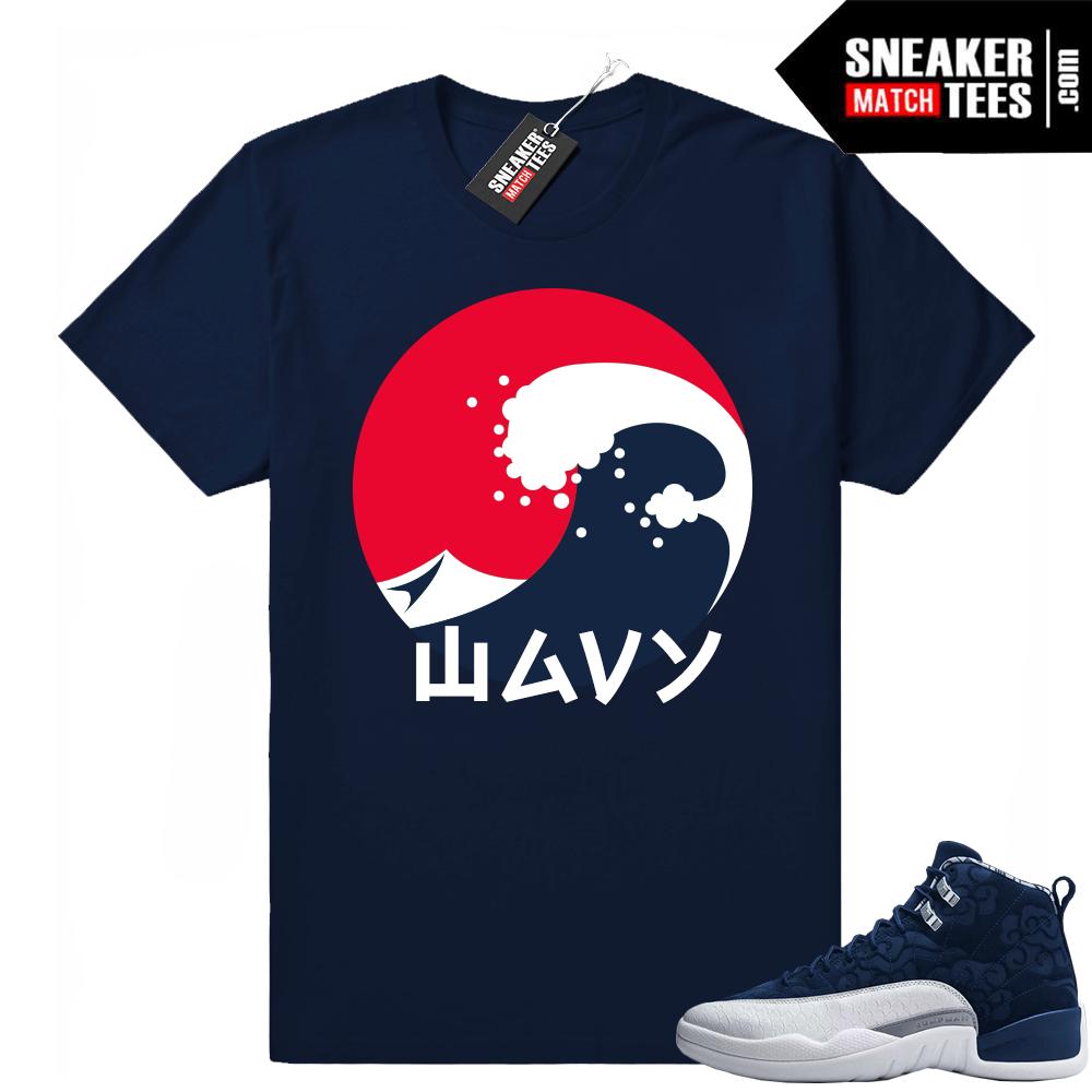 Sneaker Match Retro 12 shirts