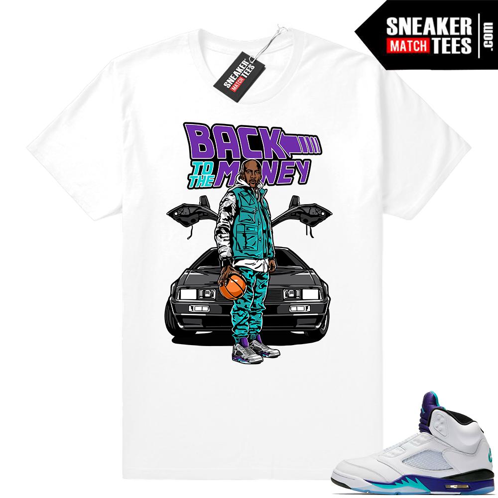 Sneaker tees Grape 5