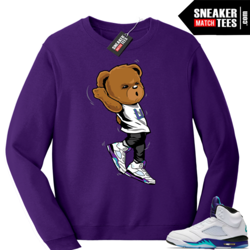 Sweatshirts Grape Jordan 5