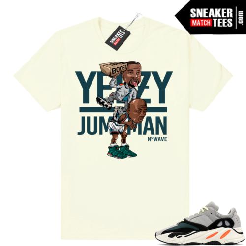 Yeezy Wave Runner 700 Yeezy Over Jumpman shirt