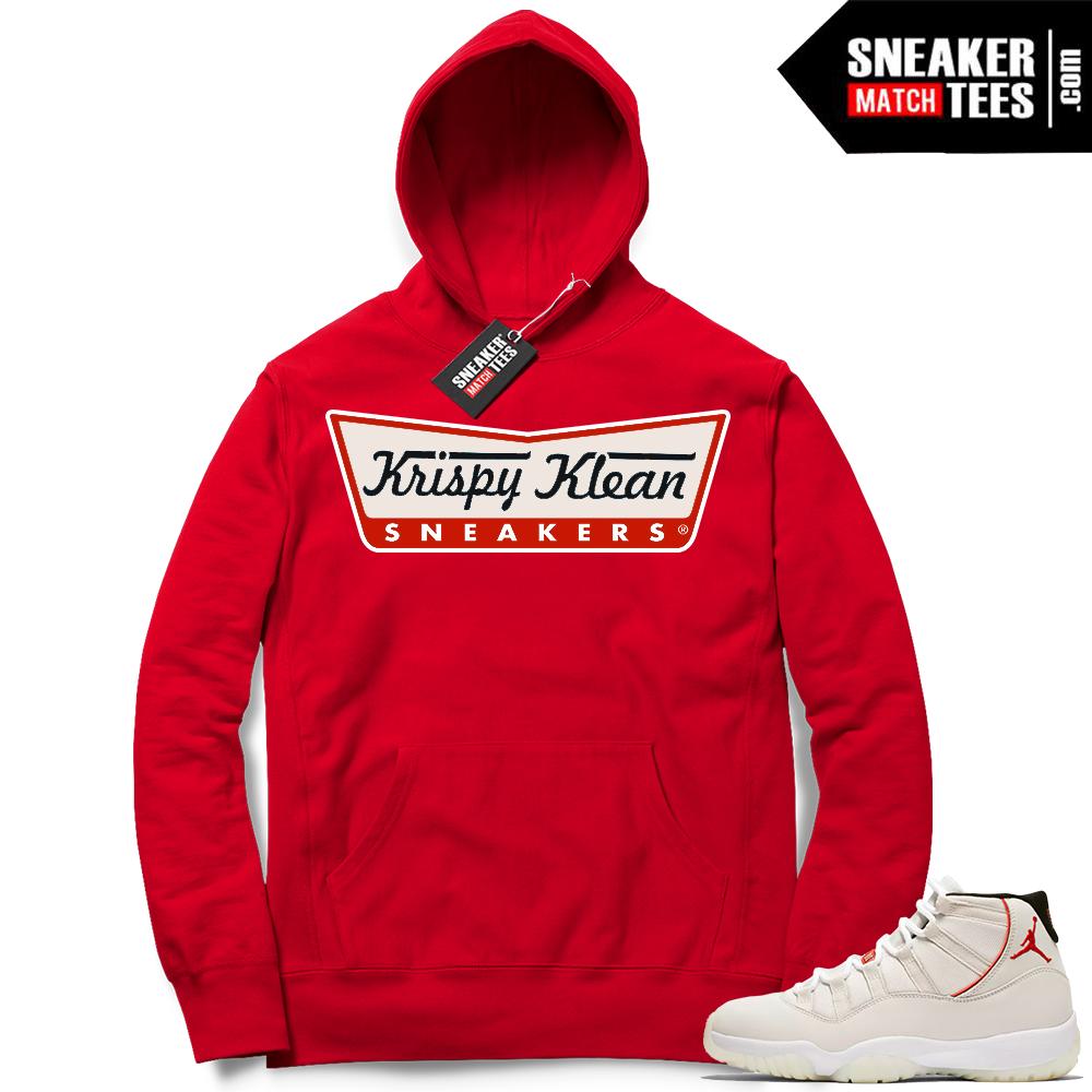 Air Jordan 11 Platinum Tint Hoodie