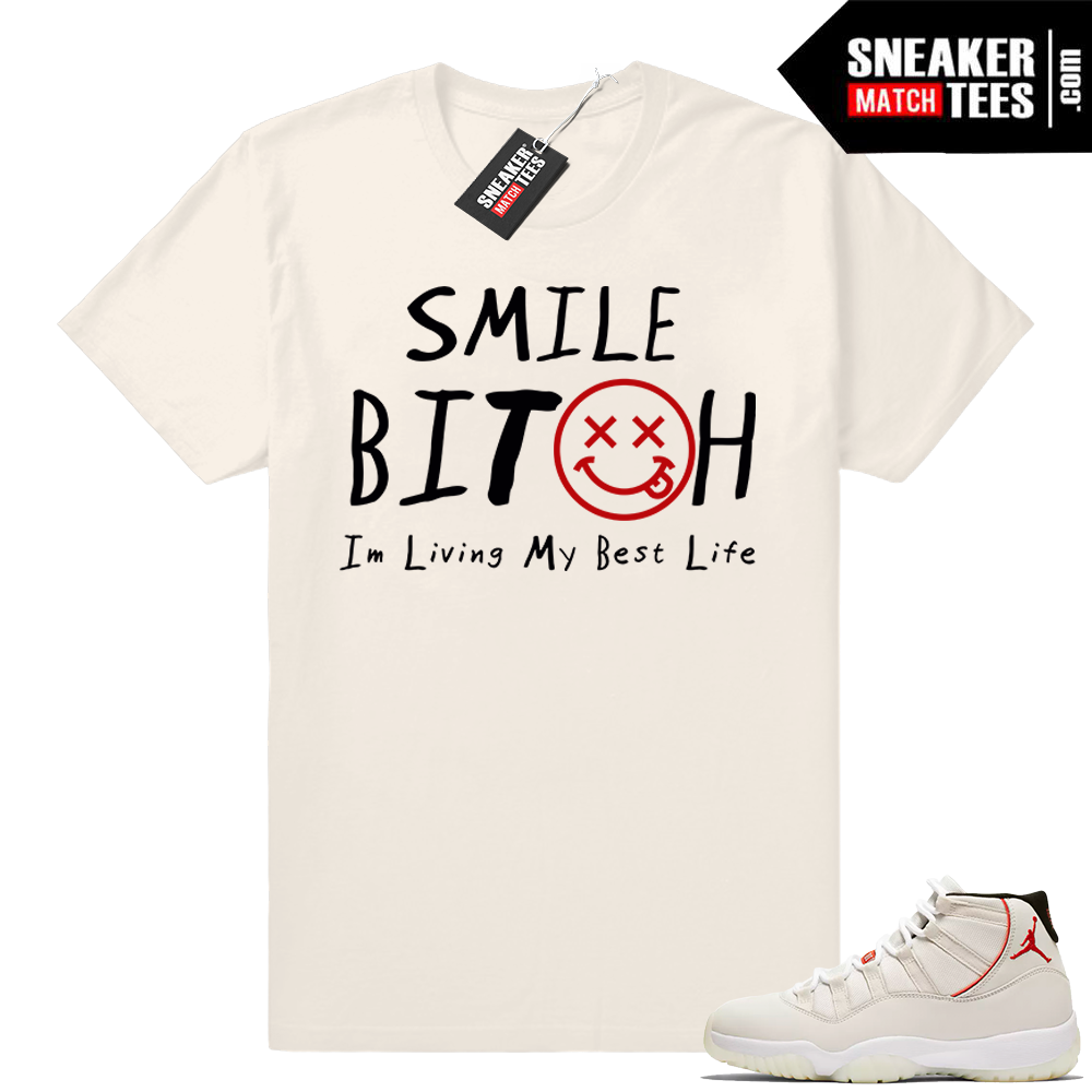 Air Jordan 11 Platinum Tint T-shirt