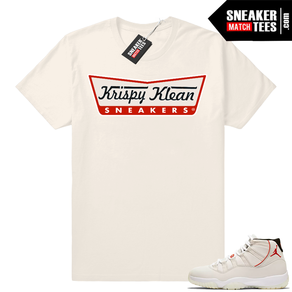 Air Jordan 11 Platinum Tint shirt