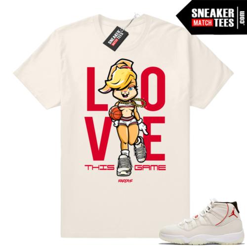 Air Jordan 11 Platinum Tint sneaker clothing