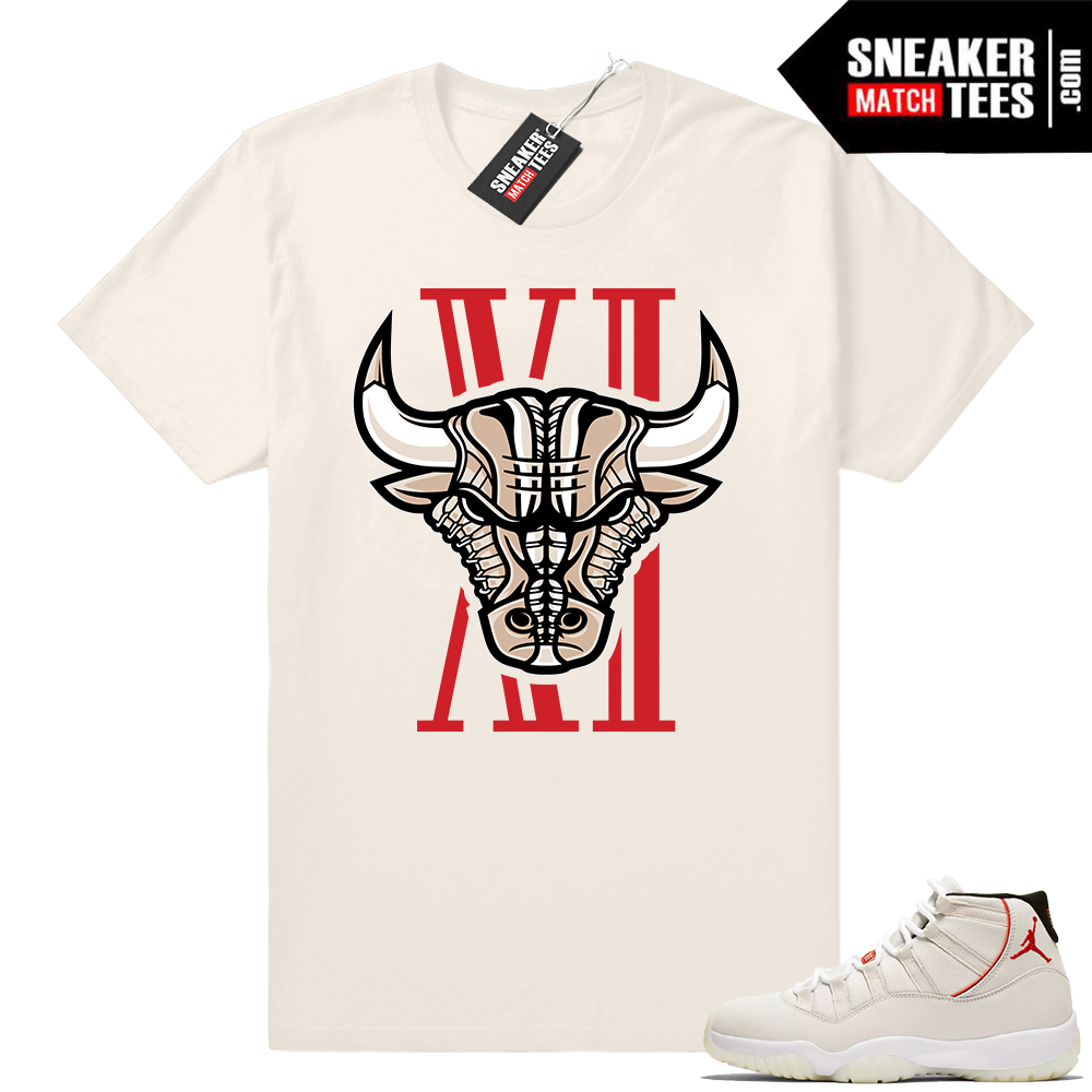 Air Jordan 11 Platinum Tint sneaker shirts