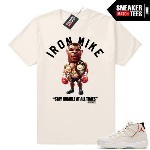 Air Jordan 11 Platinum shirt