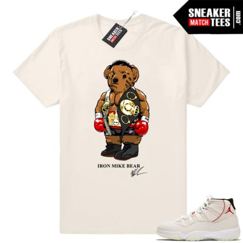 Air Jordan 11 retro shirt Platinum Tint