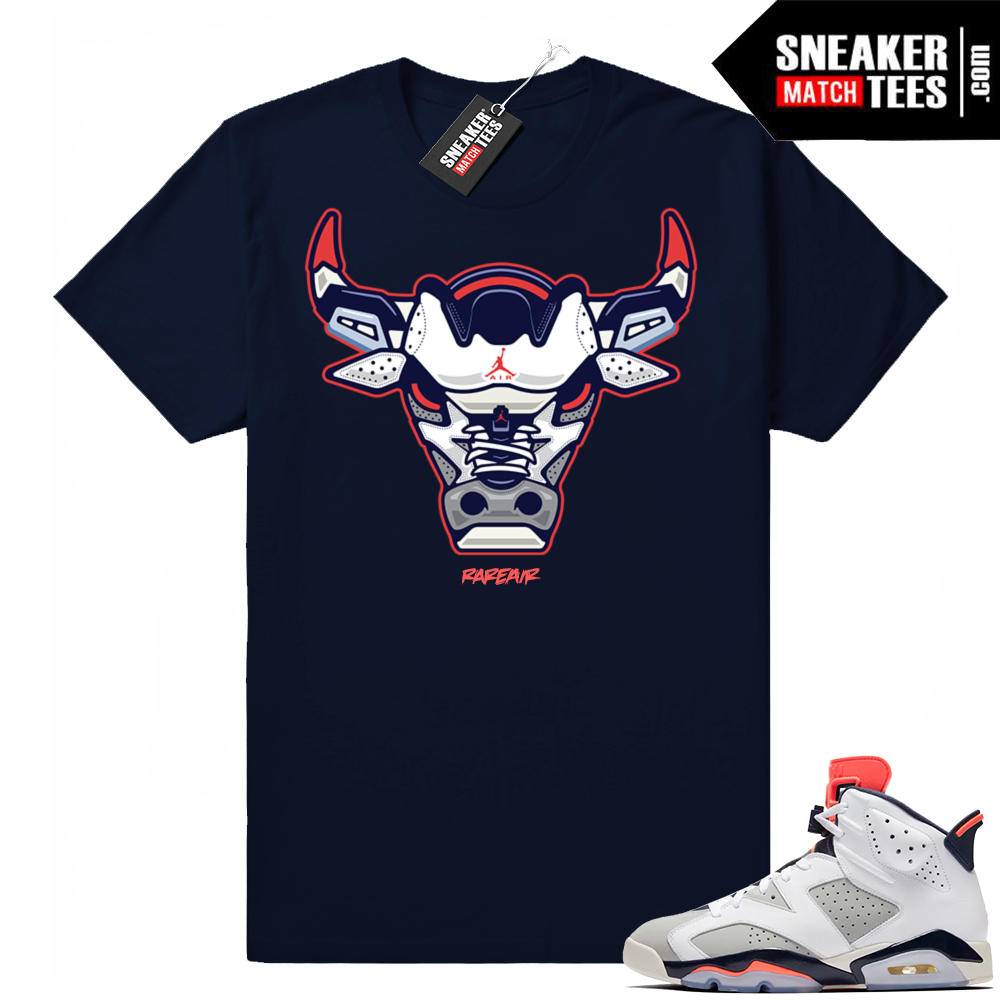 Air Jordan 6 retro Tinker shirt match
