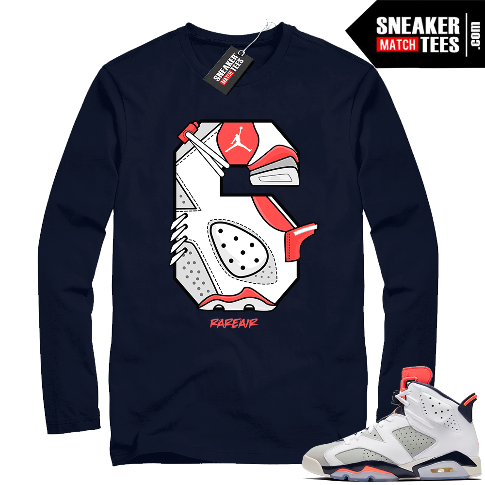 Air Jordan Retro 6 shirt