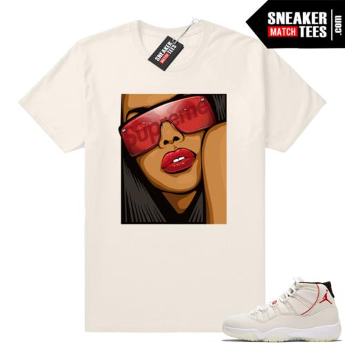Aliyah Jordan 11 shirt