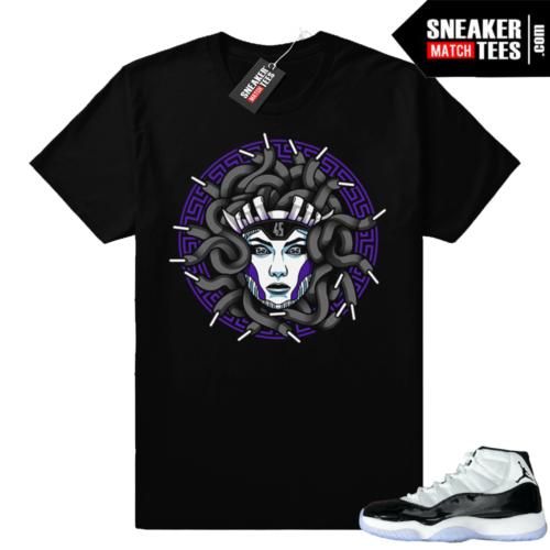 Concord 11s Medusa shirt