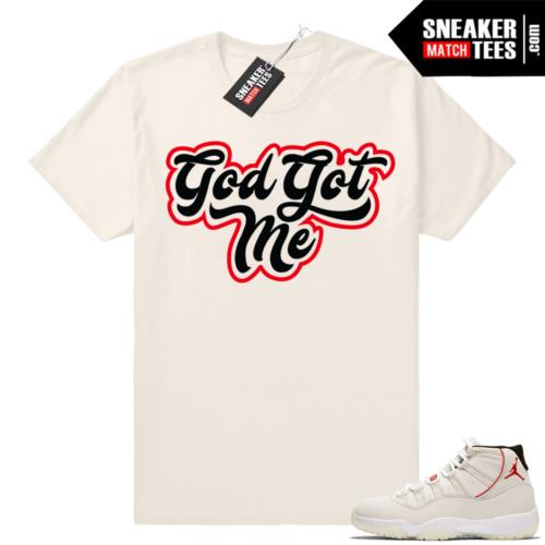 God Got Me Jordan 11 T-shirt
