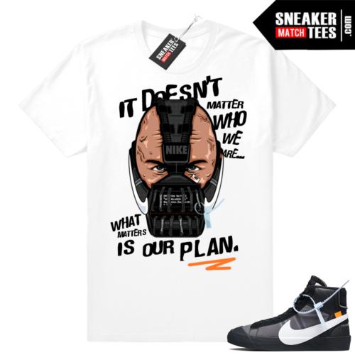 Grim Reaper Off-white Nike Blazer tee shirt