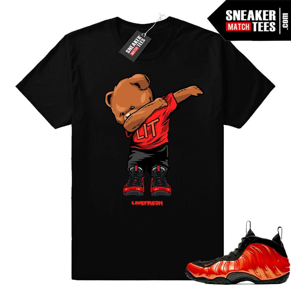 Habanero Foamposite sneaker t-shirt
