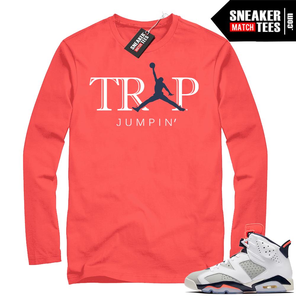 Infrared Jordan shirts Tinker